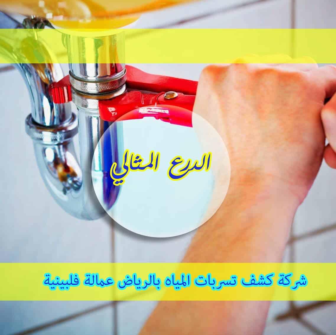 Photo of شركة كشف تسربات المياه بالرياض عمالة فلبينية